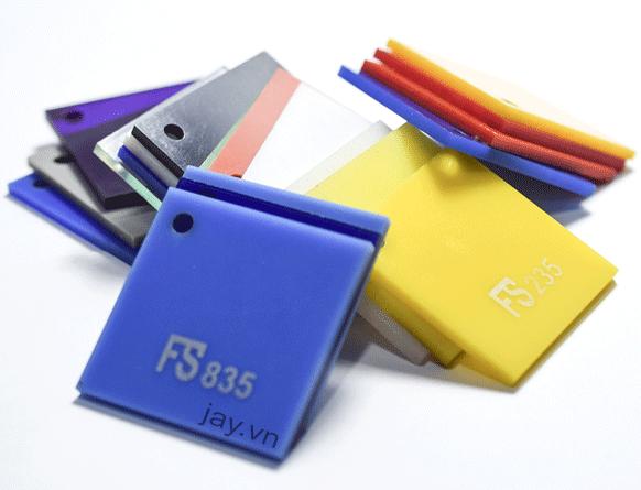 Tấm nhựa Mica Acrylic FS Fusheng độ dày 4mm